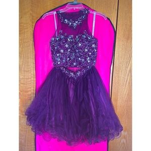 Rachel Allan Homecoming Dress: Size 0